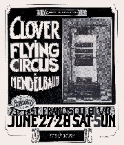 (Poster: Mike Bloomfield/Clover)