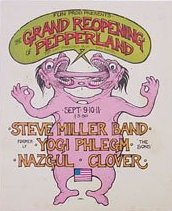 (Promo Card: Grand Reopening Of Pepperland, 1971)